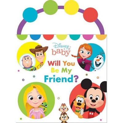 Disney Baby: Will You Be My Friend? - (A Busy Buddy Book) by  Maggie Fischer (Board Book)