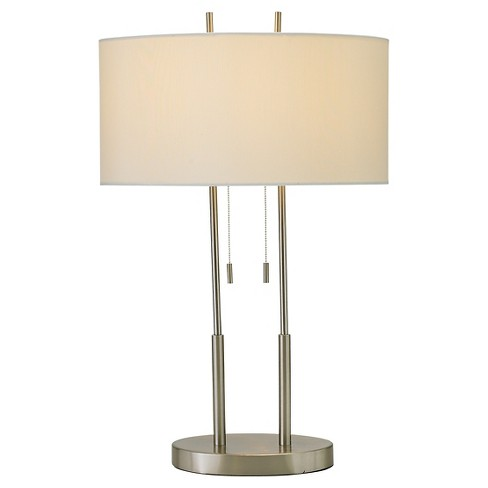 Adesso Duet Table Lamp - Silver - image 1 of 2
