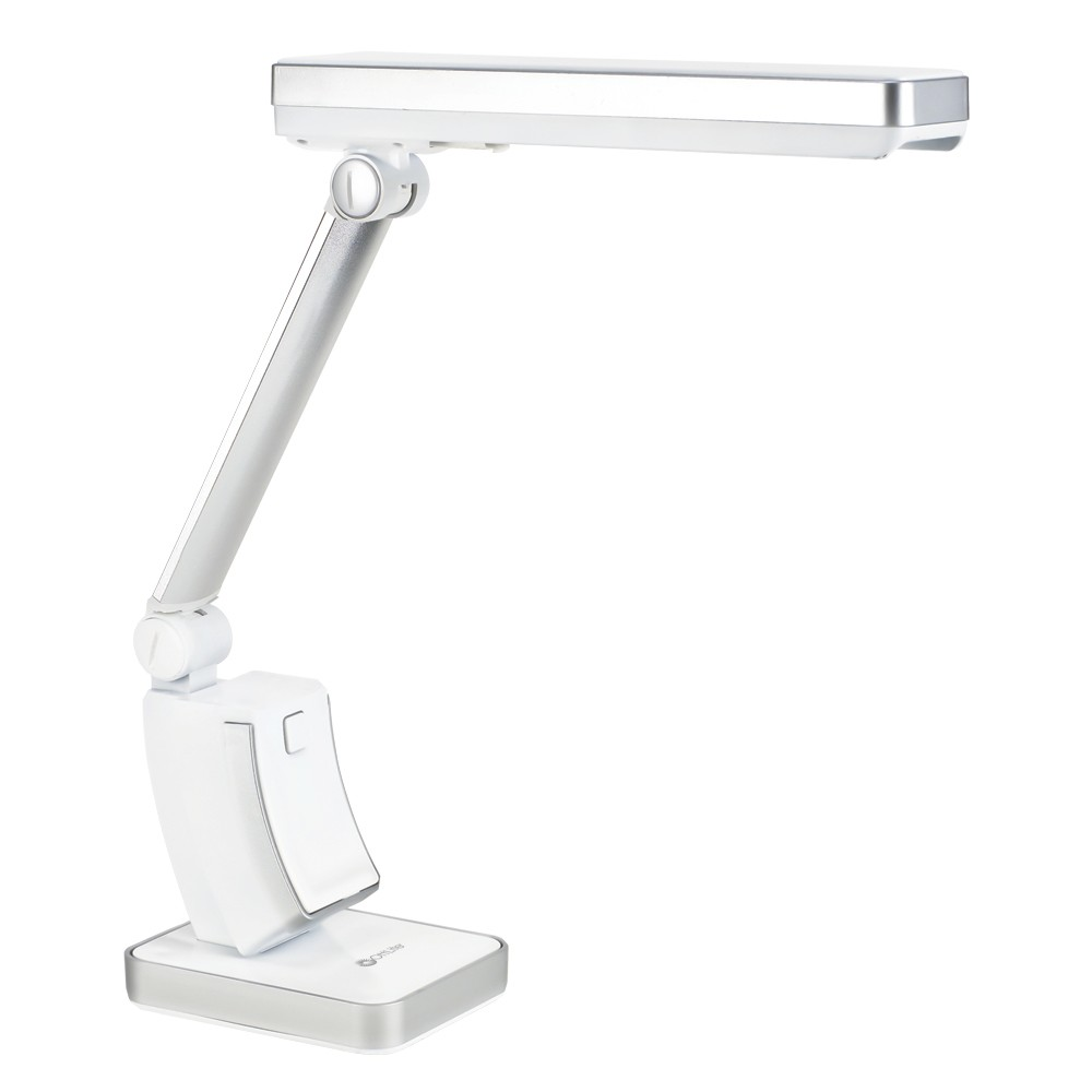 Image of 13W HD Slimline Table Lamp White (Includes Energy Efficient Light Bulb) - OttLite