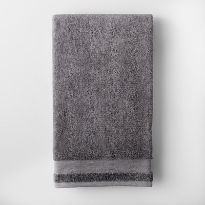 Solid Bath Towel Flat Gray - Made By Design™