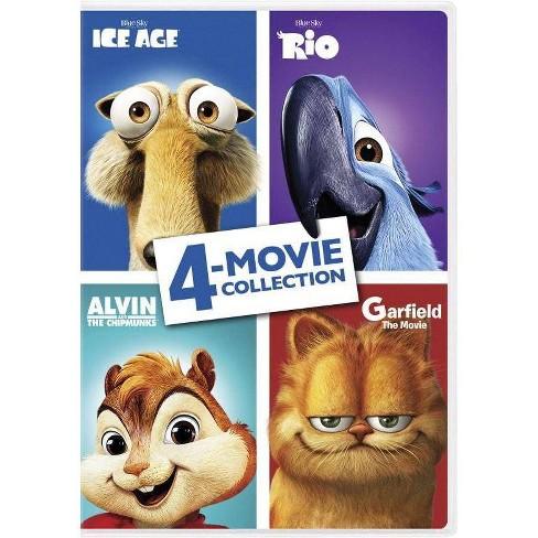Ice Age Rio Alvin Chipmunks Garfield Dvd 2017 Target