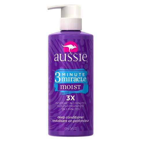 Aussie 3 Minute Miracle Moist Deep Conditioner - 16 fl oz - image 1 of 4