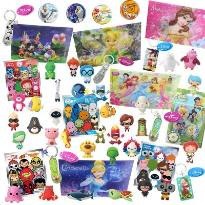 Toynk Disney World Of Disney Looksee Gift Box | Includes 7 Disney Themed Collectibles
