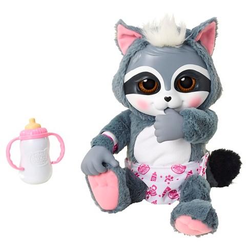 Animal Babies Deluxe Electronic Baby Raccoon Target