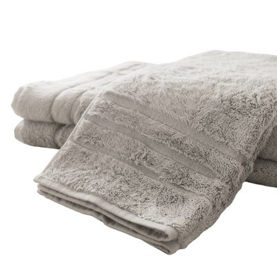 3pc Rayon from Bamboo Hand Towel Set Gray - Cariloha