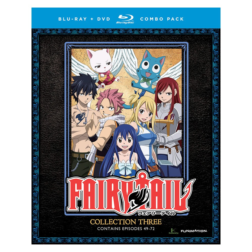 Fairy Tail:Collection Three (Bd/Dvd C (Blu-ray)
