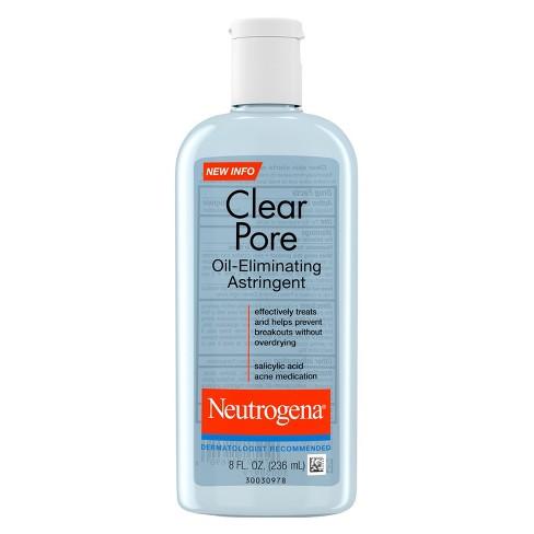Neutrogena Clear Pore Oil-Eliminating Astringent - 8oz - image 1 of 3