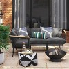 Bangor 4pc Patio Sectional Charcoal - Project 62™ - image 2 of 4