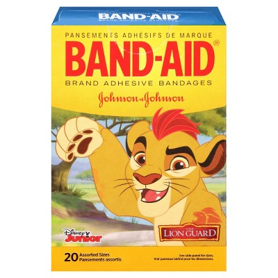 Band-Aid The Lion Guard Adhesive Bandages - 20ct