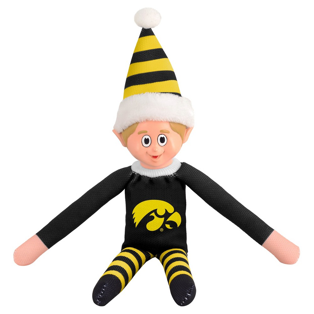 Forever Collectibles Iowa Hawkeyes Holiday Elf