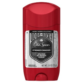 Old Spice Hardest Working Collection Odor Blocker Stronger Swagger Antiperspirant and Deodorant - 2.6oz