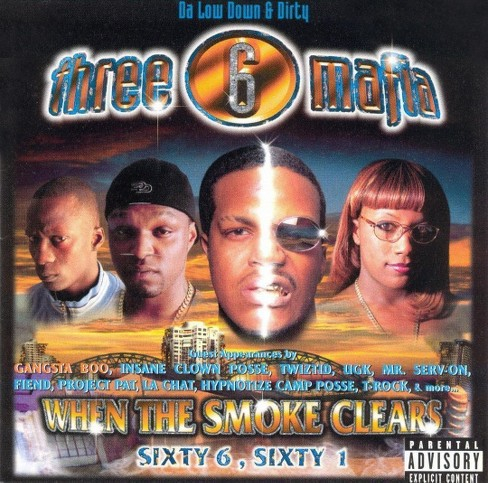 Three 6 mafia - When the smoke clears [Explicit Lyrics] (CD) - image 1 of 1
