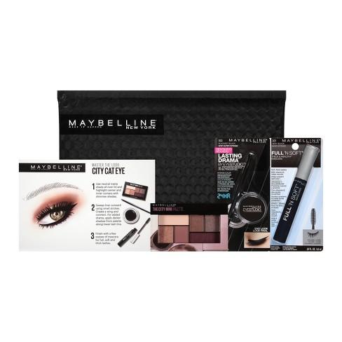0f72a15c3a1 Maybelline NY Minute Mascara Eye Makeup Kit City Cat Eye 1 Kit : Target