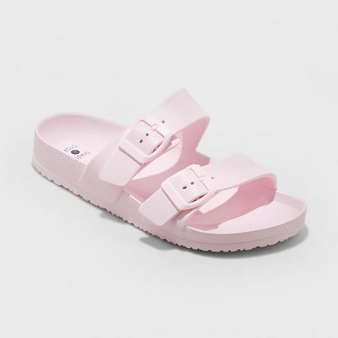 6025f92853d Women s Neida Wide Width Eva Two Band Slide Sandals - Shade   Shore ...