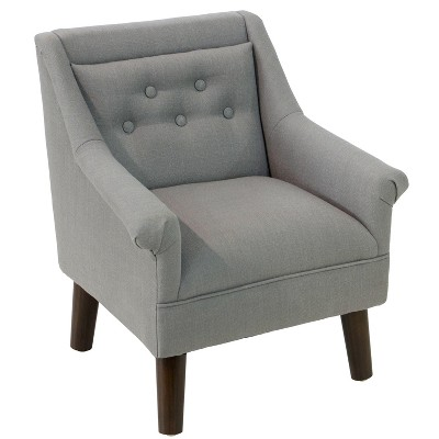 Kid's Hadley Button Tufted Chair   Cloth &Amp; Co. by Cloth & Co.