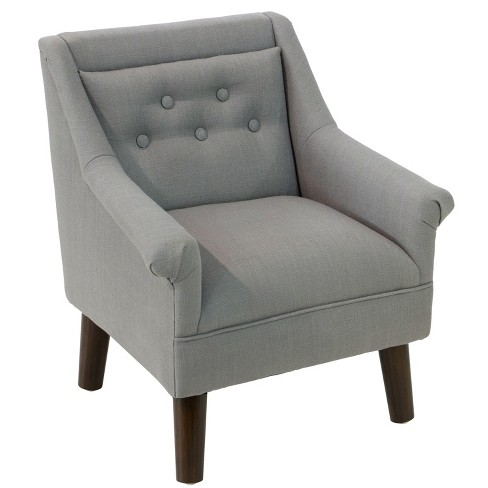 Kid's Hadley Button Tufted Chair - Cloth & Co. - image 1 of 6