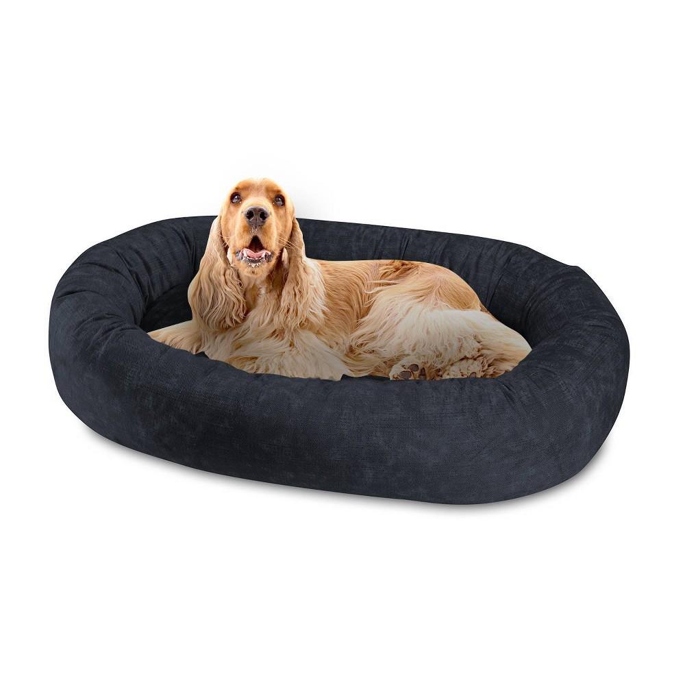 Canine Creations Orbit Oval Dog Bed L Denim