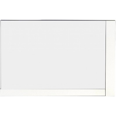 "35.5"" D2 Modern Plywood Veneer Mirror White - American Imaginations"