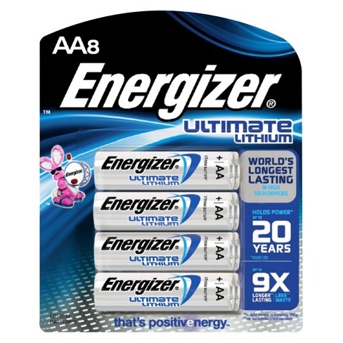Energizer Ultimate Lithium AA Batteries 8 ct (L91BP-8) - image 1 of 1
