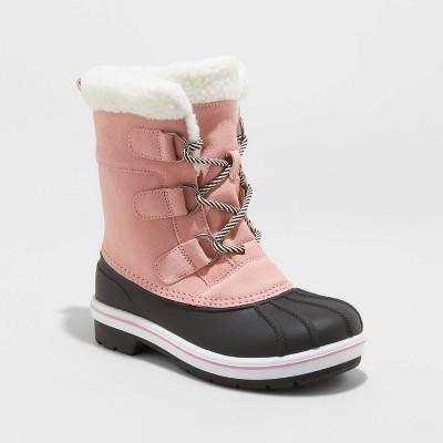 Girls' Kit Winter Boots - Cat & Jack™ Pink 5