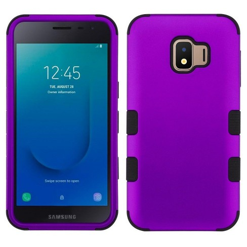 MYBAT For Samsung Galaxy J2 Core (J260)/J2 Pure Purple Tuff Hard Hybrid Case Cover - image 1 of 4