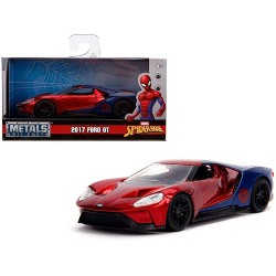 "2017 Ford GT ""Spider-Man"" Theme ""Marvel"" Series 1/32 Diecast Model Car by Jada"