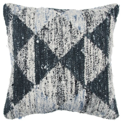 Geometric Decorative Filled Oversize Square Throw Pillow - Rizzy Home - image 1 of 3