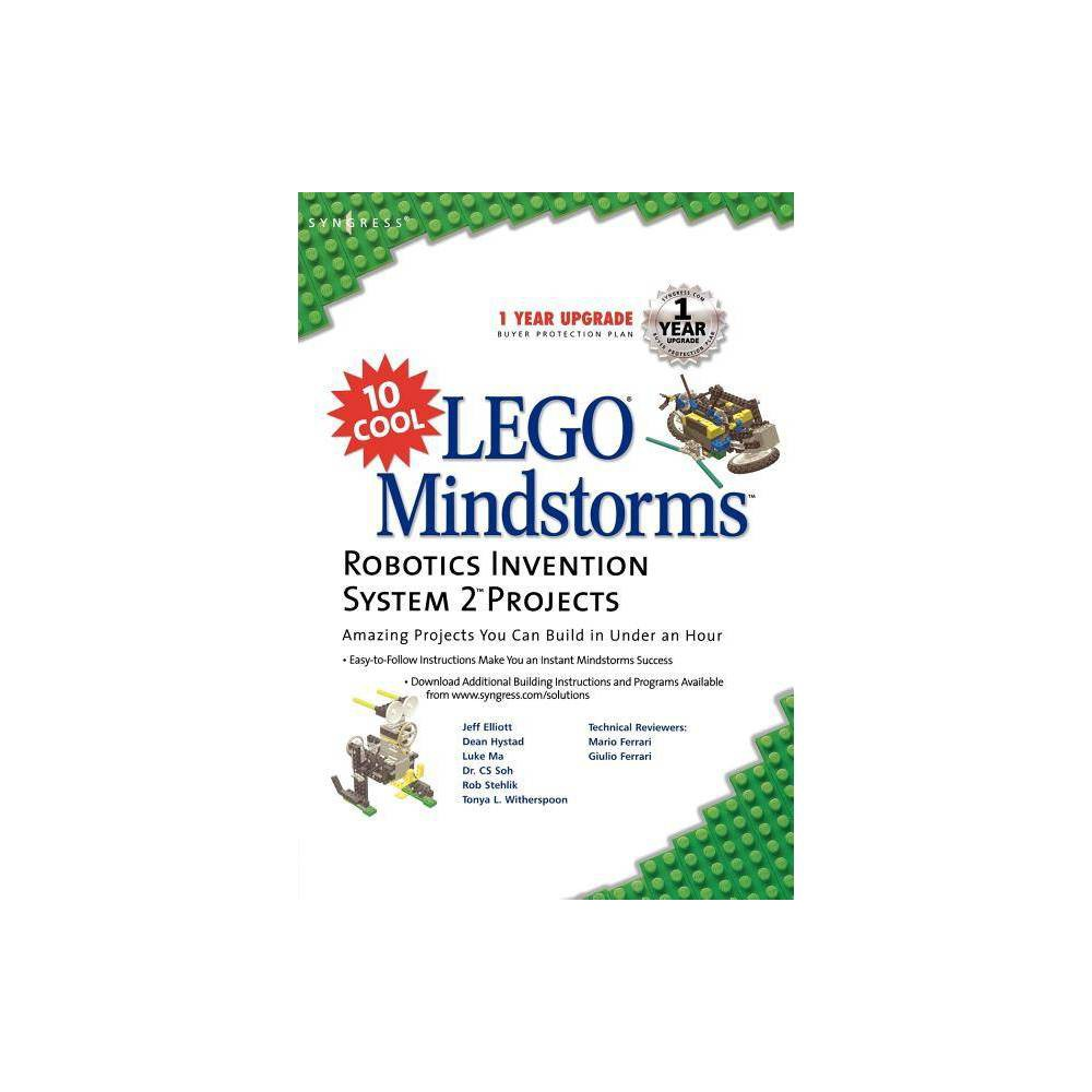 10 Cool Lego Mindstorm Robotics Invention System 2 Projects By Syngress Paperback