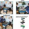 "Sunnydaze Decor 40"" 10-in-1 Multi Game Table - image 3 of 4"