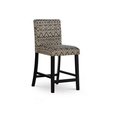 Morocco Upholstered Counter Height Barstool - Linon