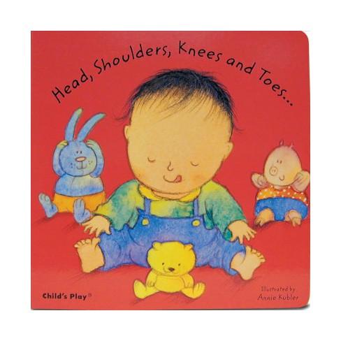 Head, Shoulders, Knees and Toes - (Nursery Time) (Board_book) - image 1 of 1