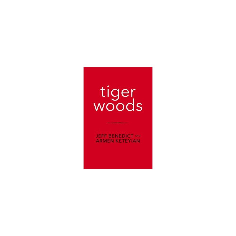 Tiger Woods - Lrg by Jeff Benedict & Armen Keteyian (Hardcover) Based on three years of extensive research and reporting, two of today's most acclaimed investigative journalists, Jeff Benedict of Sports Illustrated and eleven-time Emmy Award winner Armen Keteyian, deliver the first major biography of Tiger Woods — sweeping in scope and packed with groundbreaking, behind-the-scenes details of the Shakespearean rise and epic fall of an American icon.