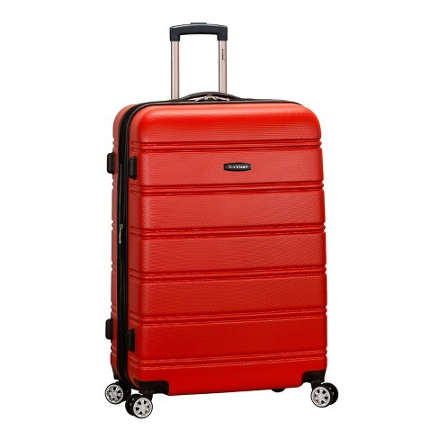 "Rockland Melbourne 28"" Expandable Hardside Spinner Suitcase - Red - image 1 of 5"