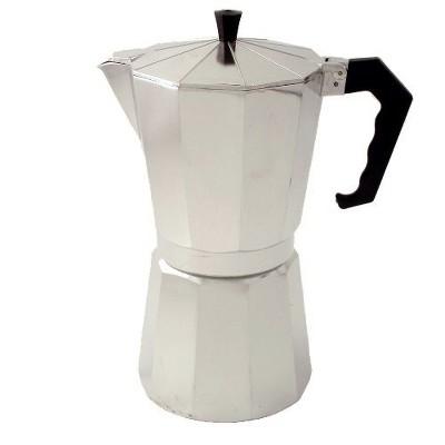 BigKitchen 12 Cup Aluminum Mocha Espresso Maker
