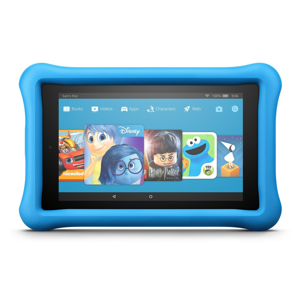 Amazon Fire 7 Kids Edition Tablet (7th Generation, 2017 Release) - Blue Kid-Proof Case - 16GB
