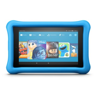 """Amazon Fire 7 Kids Edition (7"""" Display Tablet) Blue Kid-Proof Case - 16GB"""