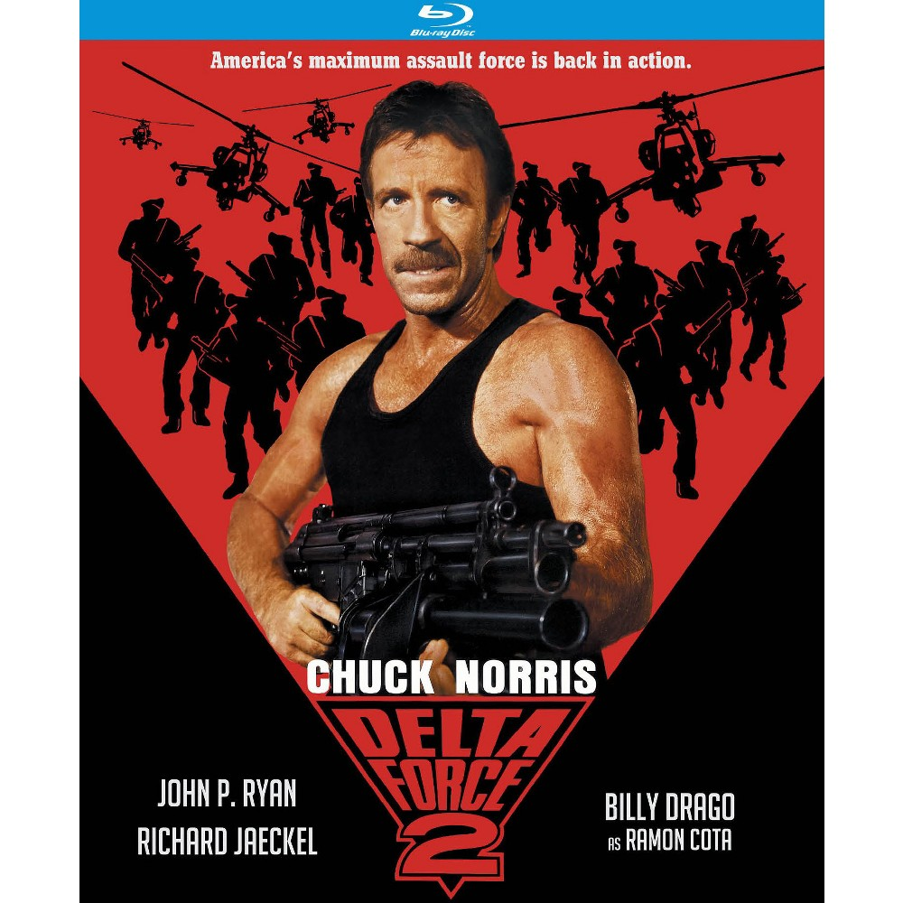 Delta Force 2 (Blu-ray), Movies