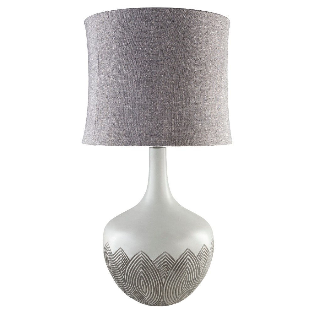 Alec Table Lamp Gray (Lamp Only) - Surya