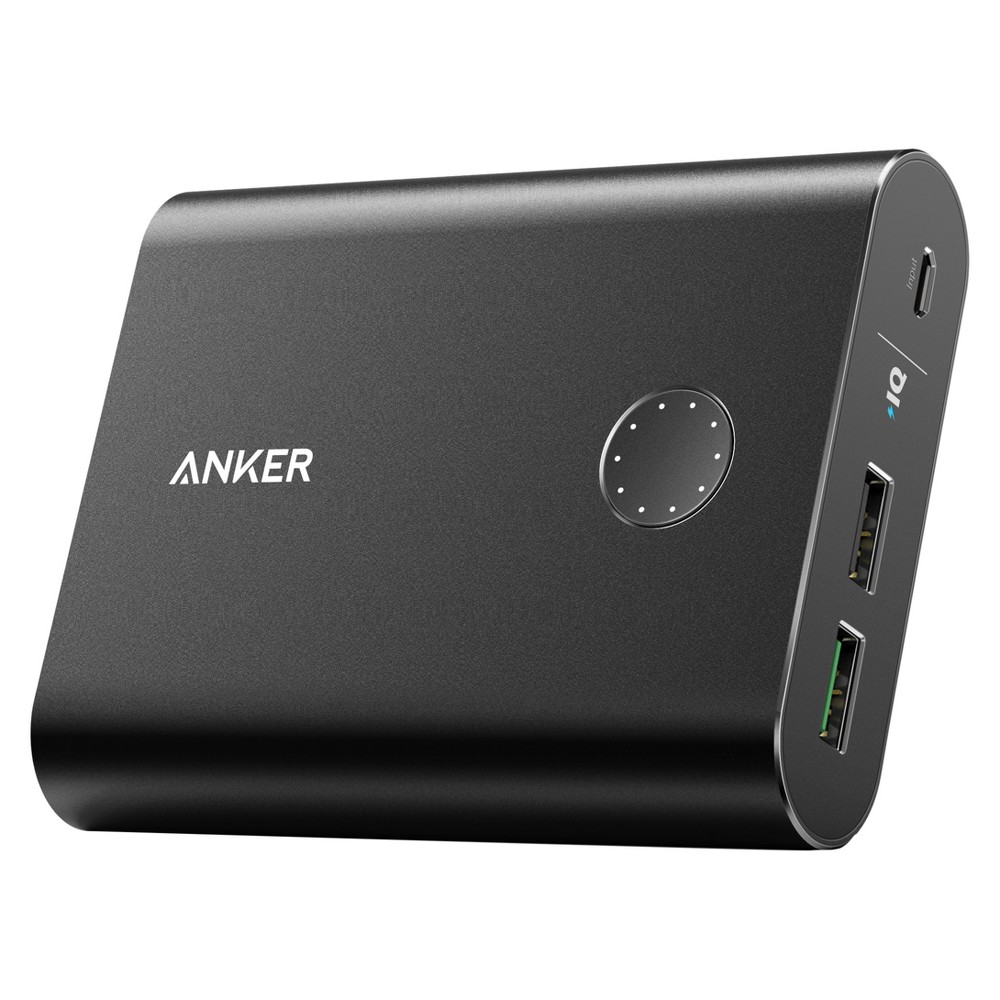 Anker PowerCore+ 13400mAh Quick Charge 3.0 Power Bank - Black