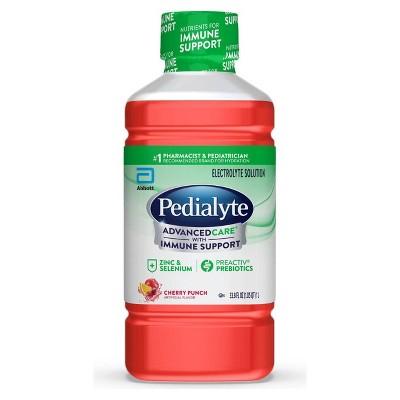 Pedialyte AdvancedCare Electrolyte Solution - Cherry Punch - 33.8 fl oz