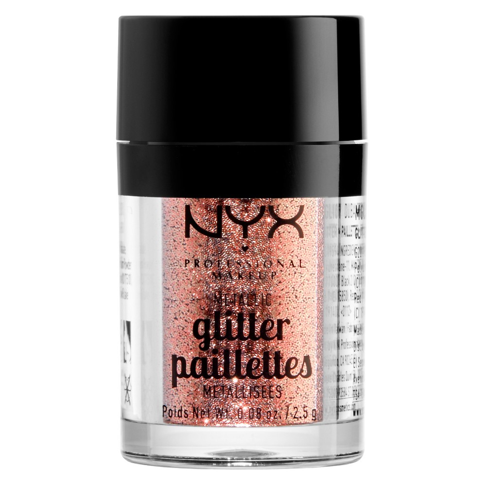 Nyx Professional Makeup Metallic Glitter Dubai Bronze - 0.08oz