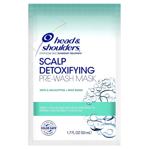 Head & Shoulders Scalp Detoxifying Pre-Wash Mask with Eucalyptus and Mint - 1.7 fl oz - image 1 of 2