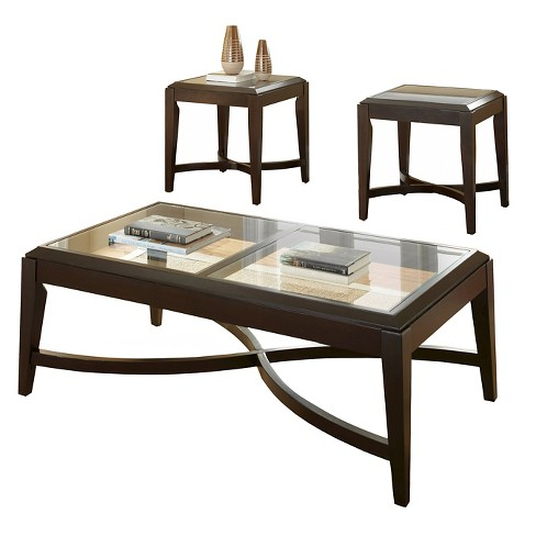 Mayfield Occasional Table Set - Espresso - Steve Silver - image 1 of 1