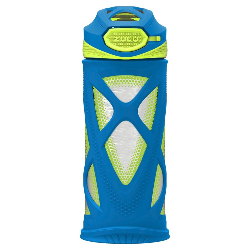 Zulu Echo Stainless Steel Water Bottle 12oz - Blue, Blue & Gray