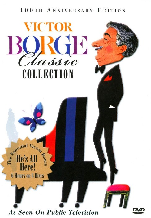 Victor Borge Classic Collection (6 Discs) - image 1 of 1