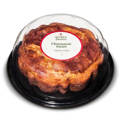 Cinnamon Swirl Coffee Cake - 20oz - Archer Farms™ - image 1 of 1