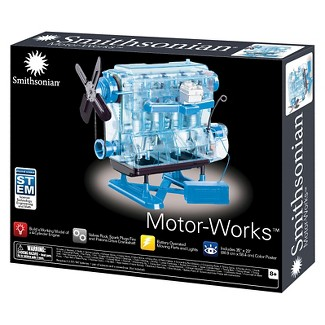 Smithsonian® Motor-Works Advanced Science Kit