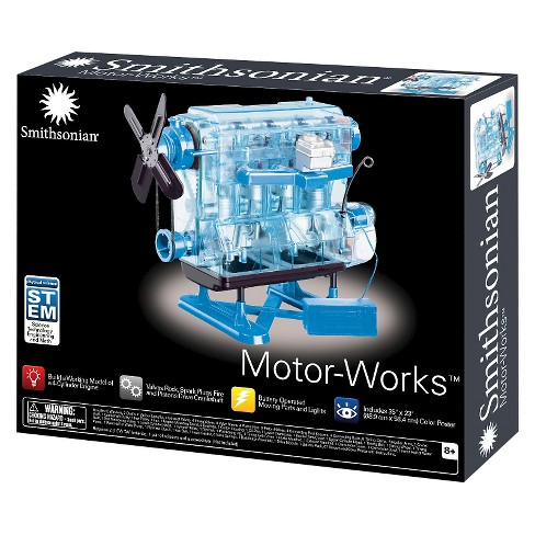 Smithsonian Motor-Works Advanced Science Kit - image 1 of 3