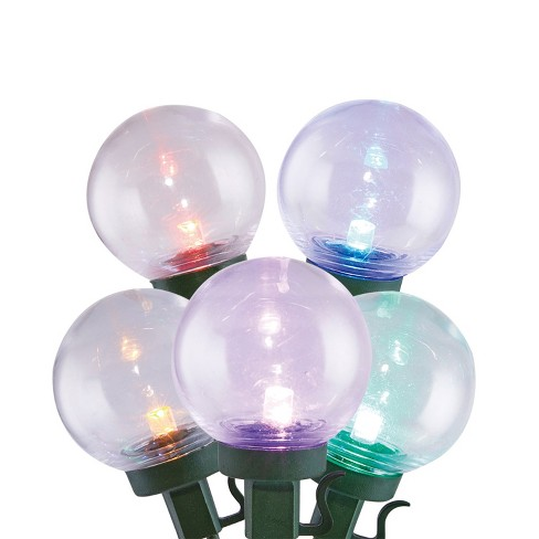 Home Heritage Outdoor Christmas 300 LED Bulb String Light, Clear & Multicolored - image 1 of 4