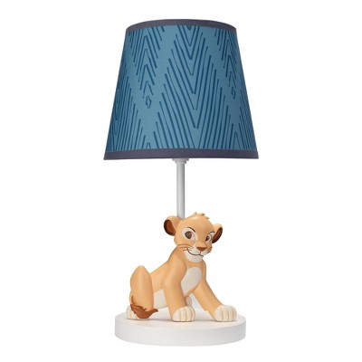 Lambs & Ivy Lion King Adventure Lamp With Shade & Bulb